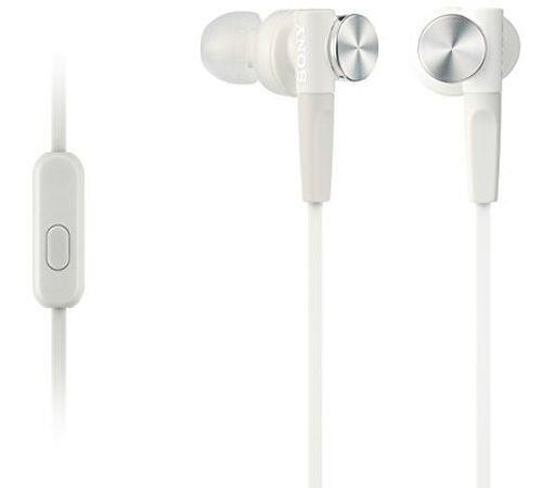 Ecouteurs Sony MDR-XB50AP Blanc