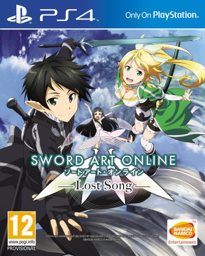 Sword Art Online 3 Lost Song PS4