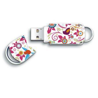 Clé USB 2.0 Integral Xpression Birds 8 Go