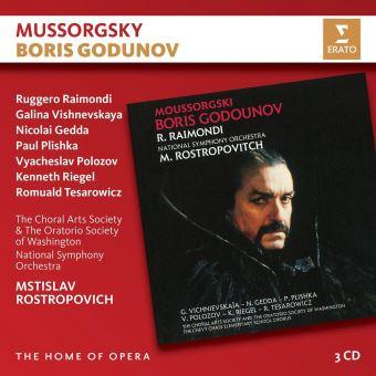 MUSSORGSKY:BORIS GODUNOV/3CD