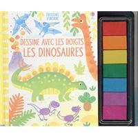 Dessine avec les doigts - Les dinosaures