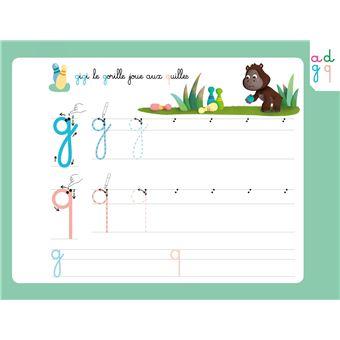 ec35d169c52 Mes premières lettres minuscules avec 1 feutre effaçable 2 couleurs - Les  livres-ardoises Un livre-ardoise pour apprendre à écrire - broché - Cécile  ...