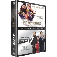 Coffret Kingsman : services secrets, Spy DVD
