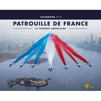 80% sur Calendrier 2018 Patrouille de France La Tournée Américaine