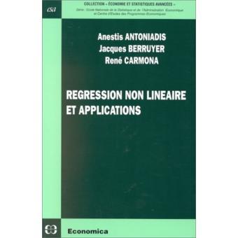 Regression non lineaire et applications