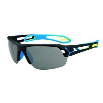 Lunettes de soleil Sport Vélo et Running Cébé S'track M Noire et bleue f6365a024a81