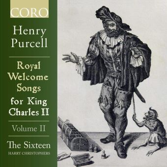 Purcell: Royal Welcome Songs For King Charles II Vol 2 - CD