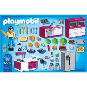 Playmobil City Life 5582 Cuisine Avec Ilot Playmobil Achat