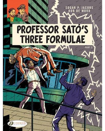 Blake & Mortimer - tome 23 Professor Sato's three formule partie 2