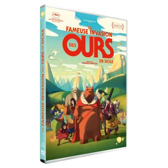 La fameuse invasion des ours en Sicile DVD