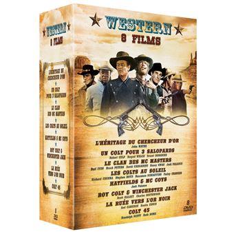 Coffret Western 8 Films DVD