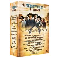 Coffret Western 8 Films DVD