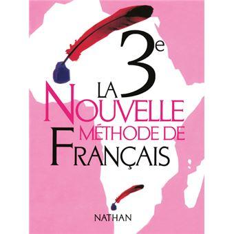 La Nouvelle Methode De Francais 3e Livre Eleve