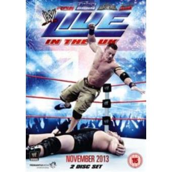 WWE Live In The UK November 2013 DVD