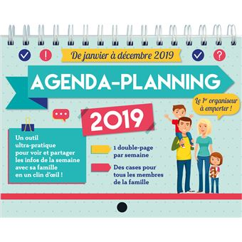 Agenda-planning 2019 Mémoniak