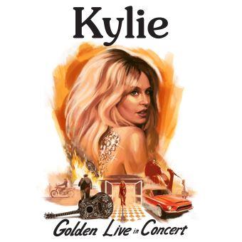 Box Set Kylie. Golden Live In Concert - 2 CDs + DVD