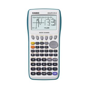 calculatrice casio graph 35+