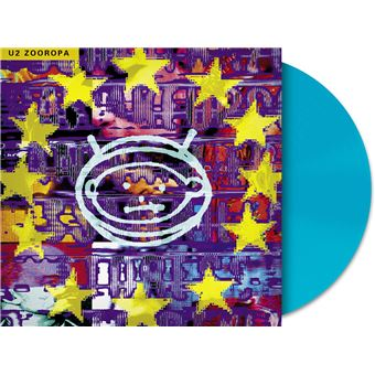 Zooropa/blue opaque/exclu fnac