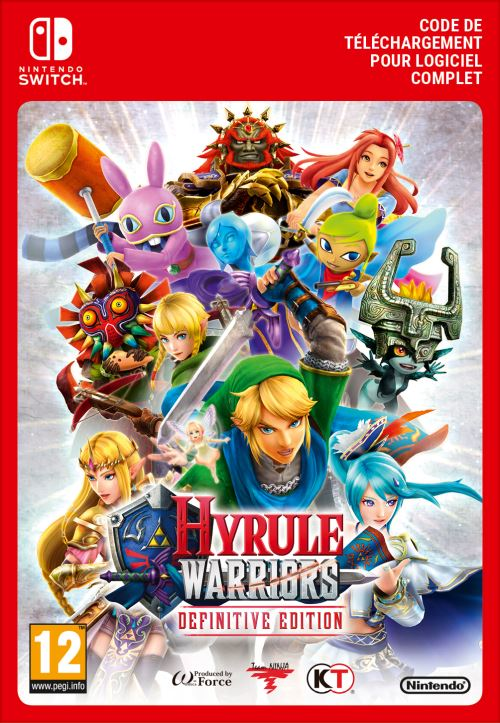 Code de téléchargement Hyrule Warriors Edition Définitive Nintendo Switch