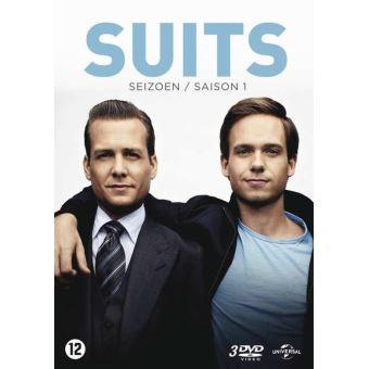 SUITS 1-4 DVD-BILINGUE