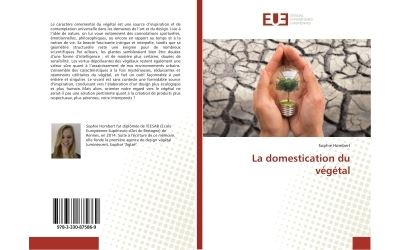 La domestication du vegetal