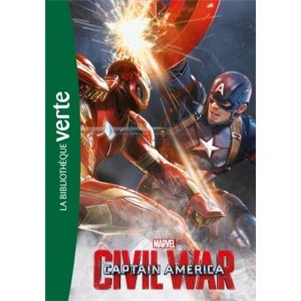 Captain AmericaBibliothèque Marvel 14 - Captain America, Civil War - Le roman du film