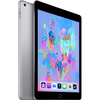 Apple Ipad 6 9,7/A10/128 Go Space Grey + Crayon