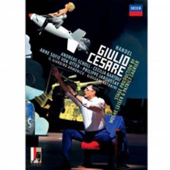 Giulio Cesare in Egitto Jules César en Egypte DVD