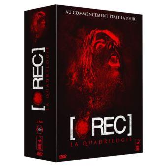 [REC.]Coffret intégrale [rec] : [rec] ; [rec]² ; [rec]³ Genesis ; [rec] 4 - Apocalypse 4 DVD