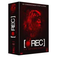 Coffret intégrale [rec] : [rec] ; [rec]² ; [rec]³ Genesis ; [rec] 4 - Apocalypse 4 DVD