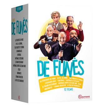 LOUIS DE FUNES-12 FILMS-FR