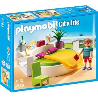 Playmobil City Life 5583 Chambre avec lit rond - Playmobil - Achat ...