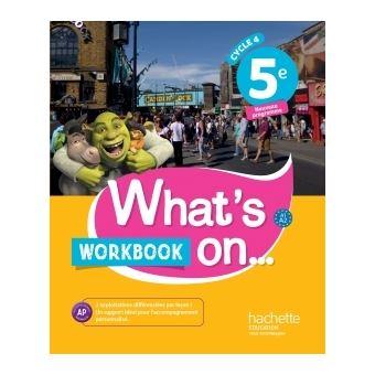 workbook 5eme reponse
