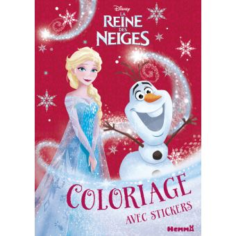 La Reine Des Neiges Disney La Reine Des Neiges Coloriage Avec