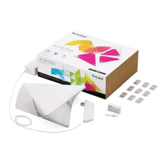 NANOLEAF LIGHT PANELS SMARTER KIT ¿ RHYTHM EDITION (15 PK)
