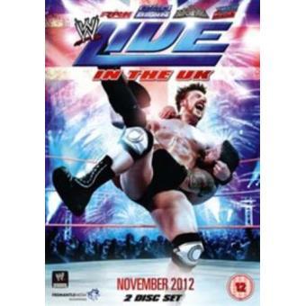 WWE Live In The UK November 2013 DVD