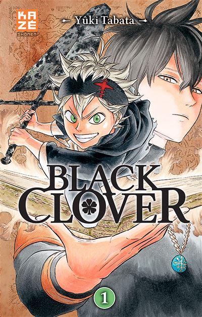 """Résultat de recherche d'images pour """"BLACK CLOVER MANGA T1"""""""
