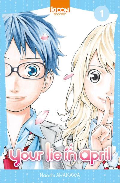 Your Lie in April - tome 1