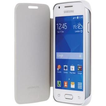 Etui Folio Bigben Pour Samsung Galaxy Trend Lite  Blanc