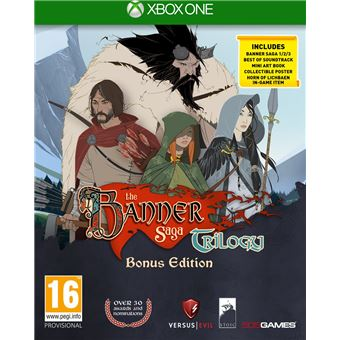 THE BANNER SAGA TRILOGY BONUS EDITION UK XONE