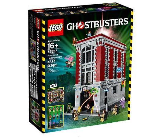 prix LEGO 75827 Le Qg Des Ghostbusters