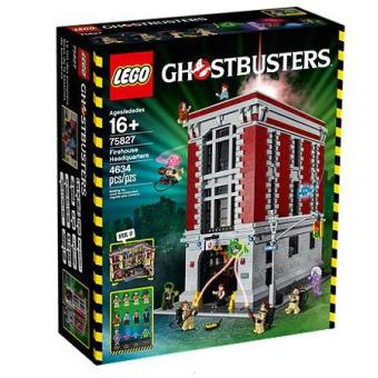 Lego Ideas 75827 Le QG des Ghostbusters