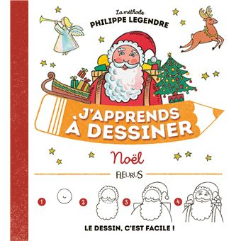 J Apprends A Dessiner Noel Cartonne Philippe Legendre Achat