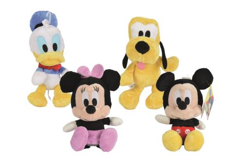 Peluche Mickey et Co. Grosse Tête Disney 20 cm
