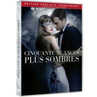 Fifty shadesCinquante nuances plus sombres DVD