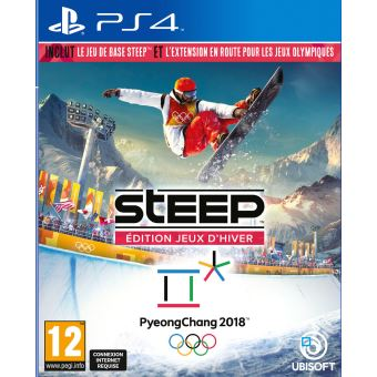 steep edition jeux d 39 hiver ps4 jeux vid o achat prix fnac. Black Bedroom Furniture Sets. Home Design Ideas