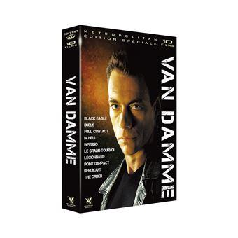 Coffret Jean-Claude Van Damme 10 Films DVD