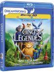 Les cinq légendes Combo Blu-ray 3D + 2D + DVD