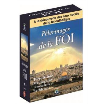 Coffret Pèlerinage de la Foi 3 Films DVD
