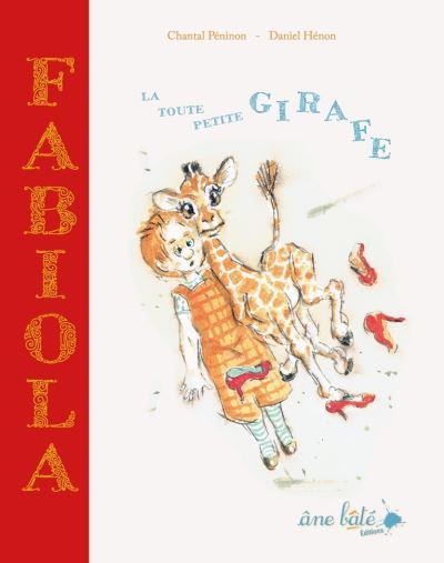 Fabiola, la toute petite girafe